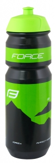 Lahev FORCE Hill 750 ml, zelená